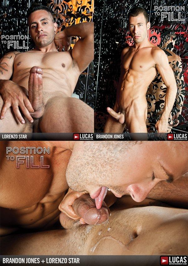 Brandon Jones takes Isarel Lorenzo Star's huge dick at Lucasentertainment 01
