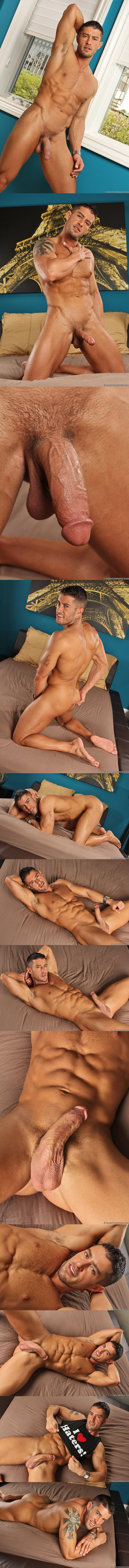 Cody, love or hate, solo jerking off at Codycummings 02