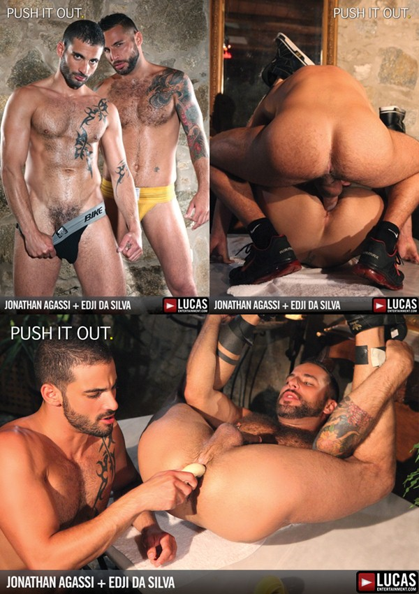 Edji Da Silva plows, pisses and stuffs Jonathan Agassi at Lucasraunch 01