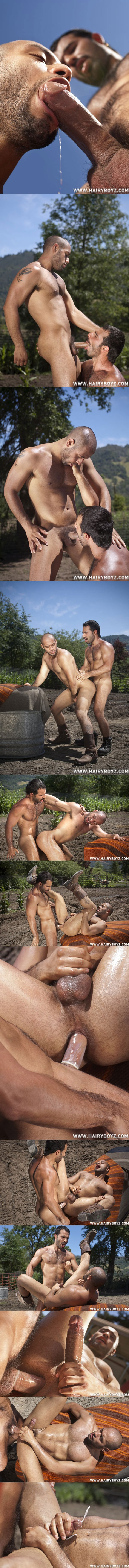 Cowboy Aybars plows furry Leo Forte at Hairyboyz 02