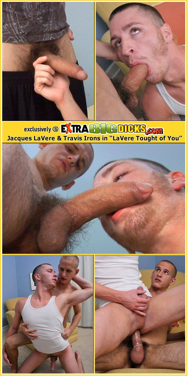 big dick Jacques LaVere pounds cute boy Travis Irons at Extrabigdicks 01