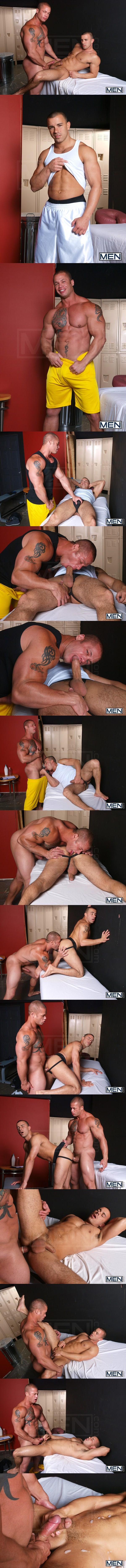 Muscular Matthew Rush tops handsome Chris Tyler at Bigdicksatschool 02