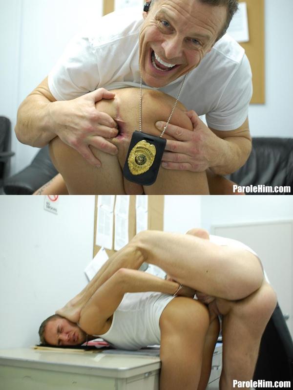 Brutal policeman barebacks young parolee in Cavity Search 2 at Parolehim 01