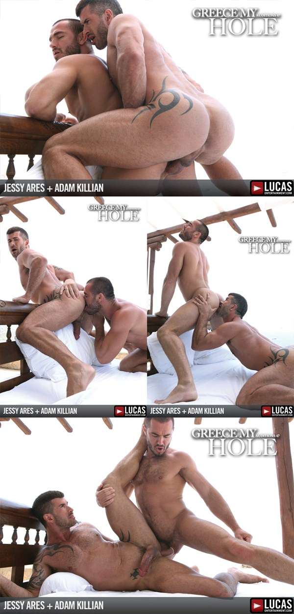 big dick Adam Killian and masculine Jessy Ares Flip-Flop at Lucasentertainment 01