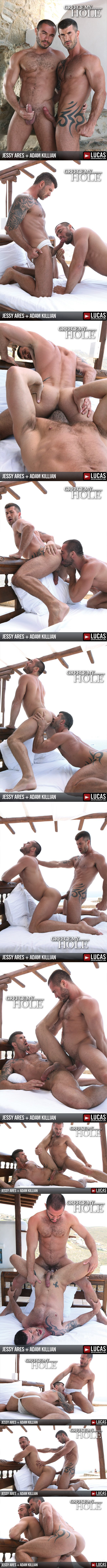 big dick Adam Killian and masculine Jessy Ares Flip-Flop at Lucasentertainment 02