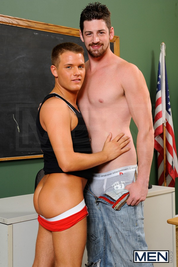 big dick Andrew Stark Fucks cute blond Brandon Wilde at Bigdicksatschool 01
