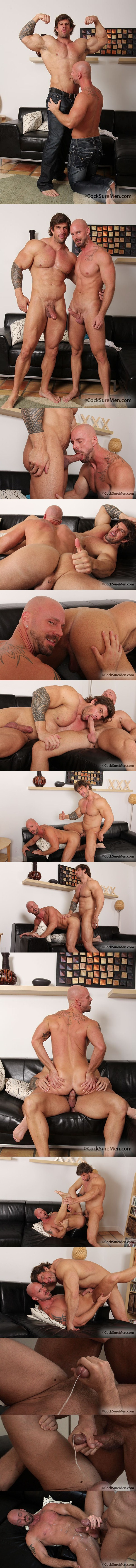 masculine muscled Zeb Atlas plows daddy Mitch Vaughn at Cocksuremen 01