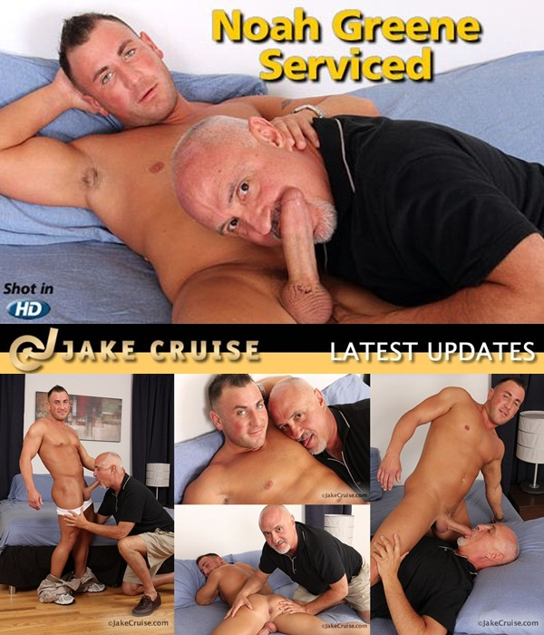 Muscular Noah Greene Serviced, rimmed, fingered at Jakecruise