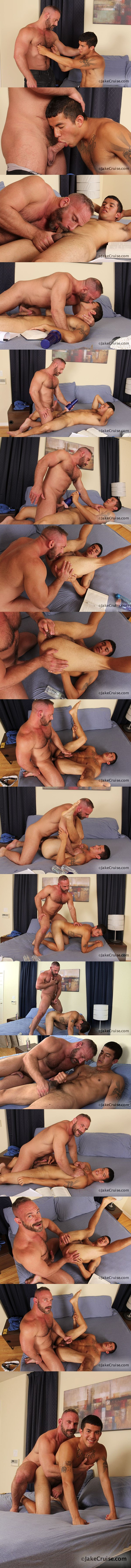 Muscle Daddy Samuel Colt Fucks young Gabriel Louis at Jakecruise 02