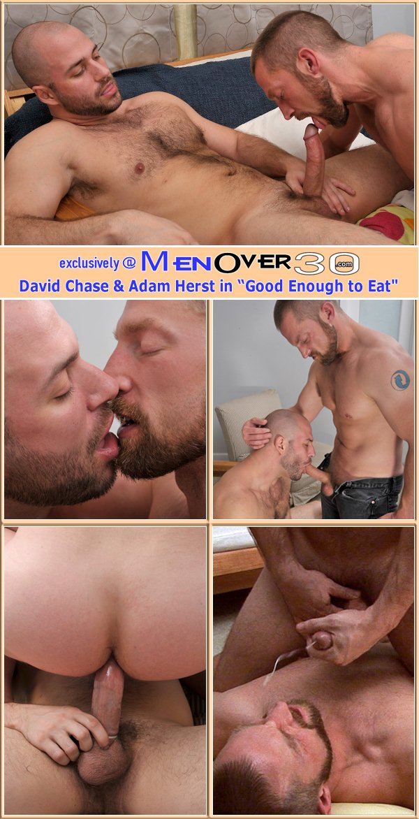 masculine David Chase fucks the nut out of bearded Adam Herst at Menover30 01