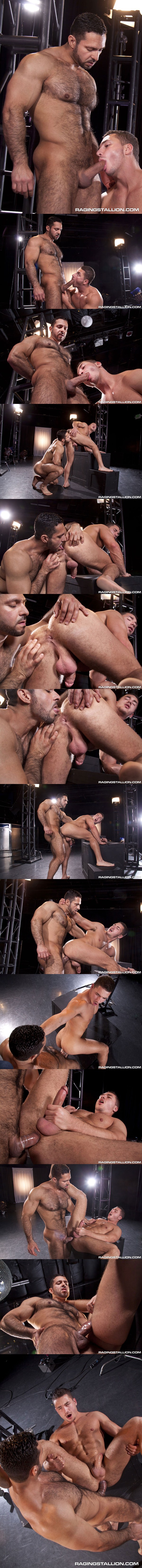 Muscular Hairy Adam Champ Plows Handsome Power Bottom Marc Dylan at Ragingstallion 01