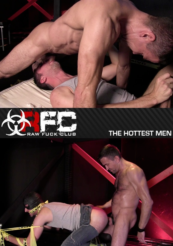 Power Top Matt Sizemore Raw Fucks Brandon Hawk senseless at Rawfuckclub