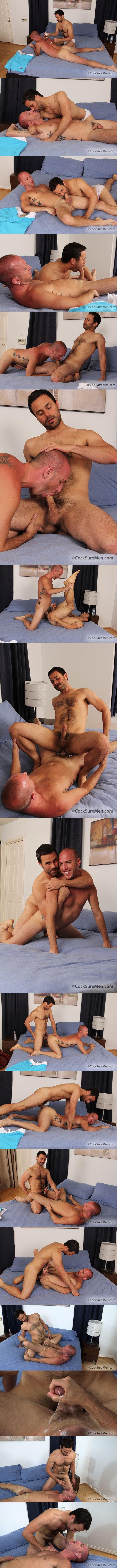 hot Rex Roddick and handsome Conner Habib flip-flop fucking at Cocksuremen 02