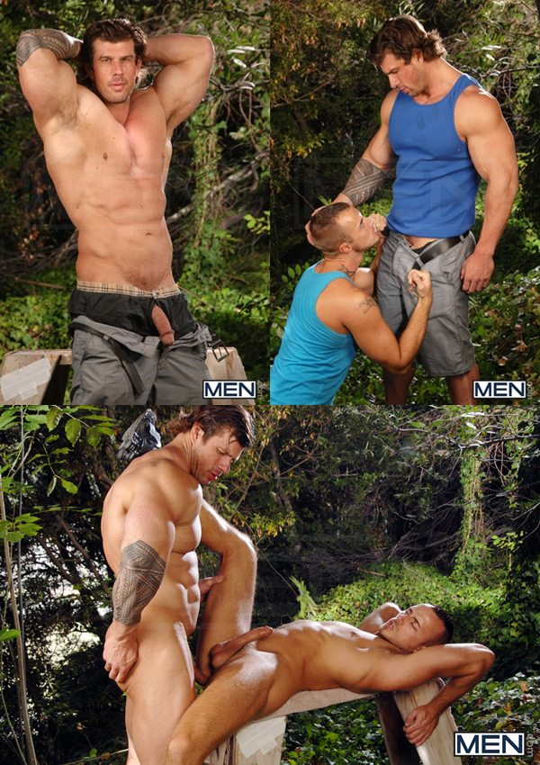 Masculine muscled Zeb Atlas Fucks power bottom Jessie Colter at Str8togay 01