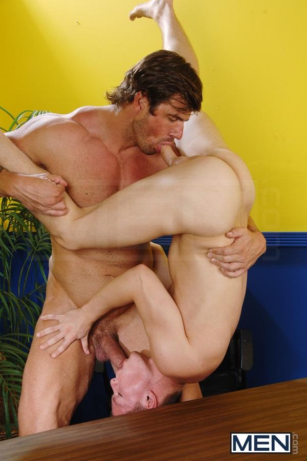 beefy muscular Zeb Atlas Fucks cute hottie Tyler Sweet at Bigdicksatschool 01