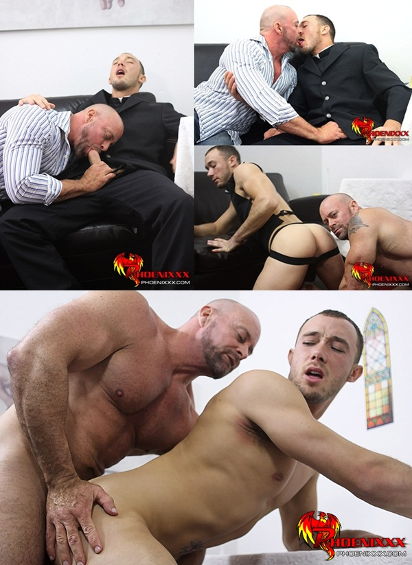 mascular daddy Casey Williams Fucks Kirk Cummings at Phoenixxx