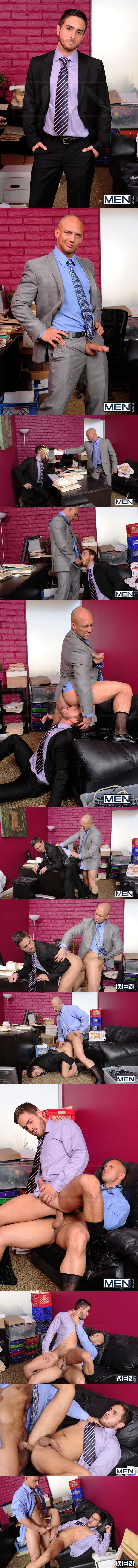 Demanding boss John Magnum Fucks his hot employee Bryce Star in Law & Hoarder at Thegayoffice 01