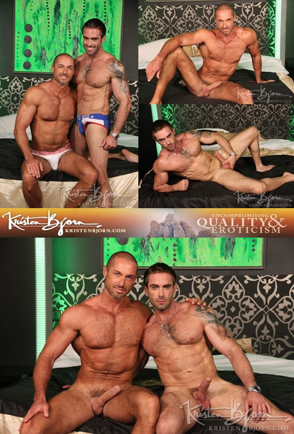 Jake Genesis & Hot Brazilian Marcelo Montero Flip-Flop in Casting Couch 287 at Kristenbjorn