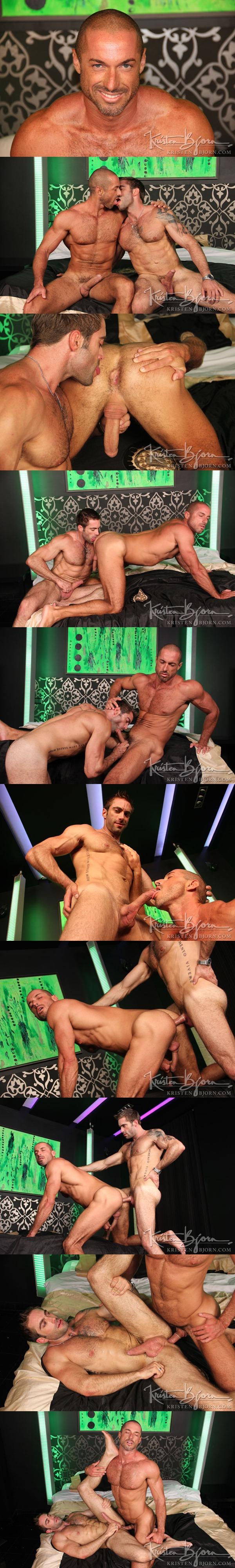 Jake Genesis & Hot Brazilian Marcelo Montero Flip-Flop in Casting Couch 287 at Kristenbjorn 01