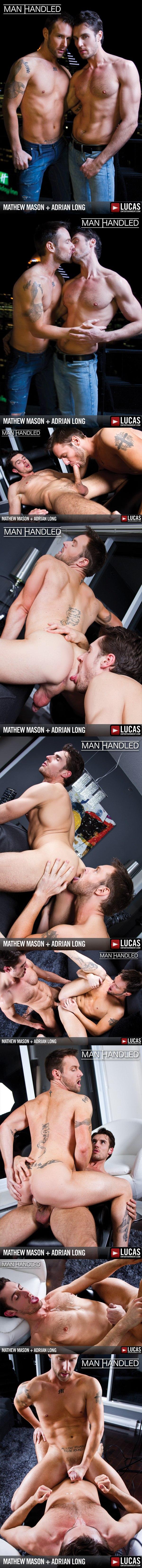 Big-dicked Sexy Adrian Long Pounds Hot Australian Mathew Mason at Lucasentertainment 01