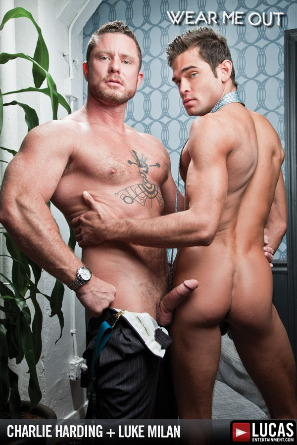 Rugged Charlie Harding Fucks Handsome Luke Milan at Lucasentertainment