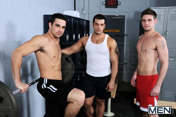 Hottest Threeway of muscular Marcus Ruhl & Jack King Fucks cute Duncan Black in The Ex Boyfriend at Drillmyhole