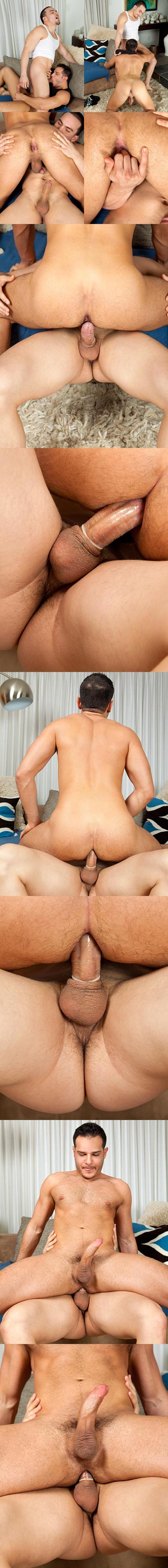 Hung Marcel Cruz fucks hot arab stud Adi Hadad in his virgin ass at Randyblue 01