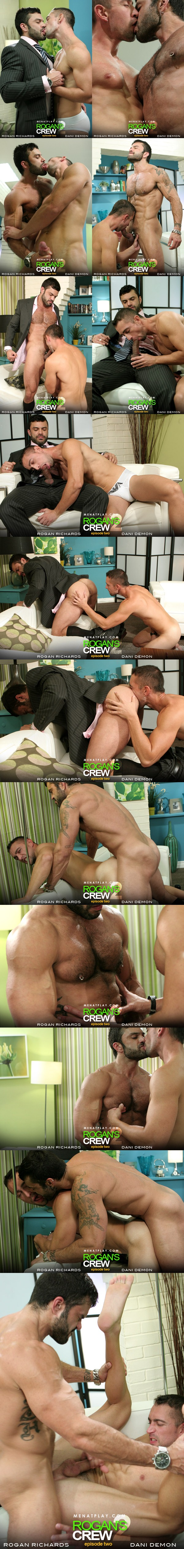 Rugged handsome Rogan Richards Fucks cute boy Dani Demon in Rogan's Crew Episode 2 at menatplay 01
