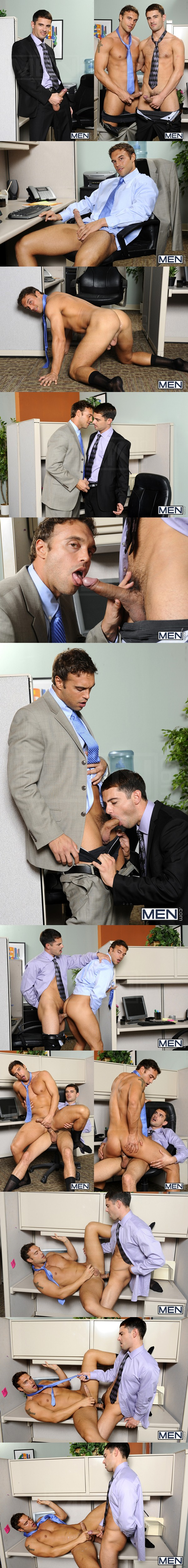 Super sexy Donny Wright Fucks a huge load out muscular straight Rocco Reed in Last Day On The Job at Thegayoffice 01