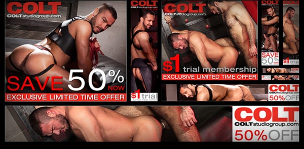 A great deal for quality and masculine porn featuring the perfectly-shaped Men such as Adam Champ, Jessy Ares, Bob Hagar, Jake Genesis, Rogerio Matteo and more at Coltstudiogroup 01