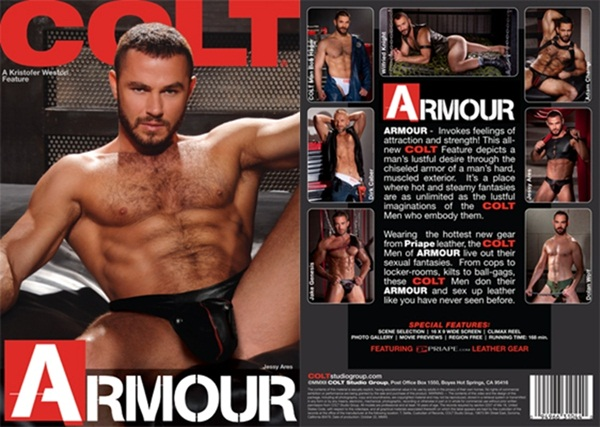Wilfried Knight, Dolan Wolf, Jessy Ares, Dirk Caber, Adam Champ, Jake Genesis and Bob Hager have masculine rough men sex in Armour at Coltstudiogroup