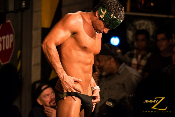 Hot muscled big-dicked Franco Lombard has a horny muscle show in BBJAM #32 at Jimmyzproductions