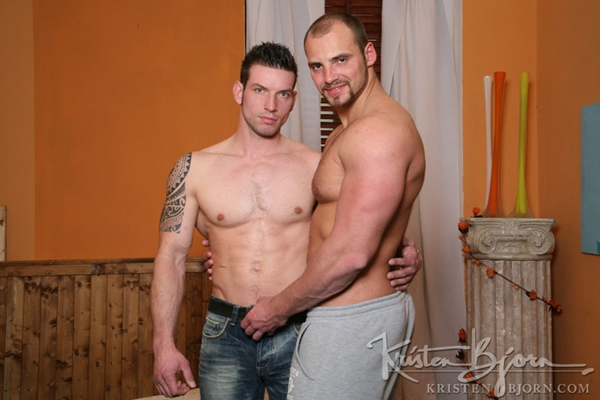 Muscled Tomas Friedel & Handsome Rado Zuska flip-fuck in Casting Couch #290 at Kristenbjorn