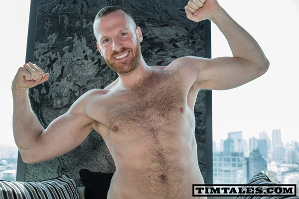 Masculine big-dicked Tim Kruger in Bangkok with his boyfriend Grobes Geraet