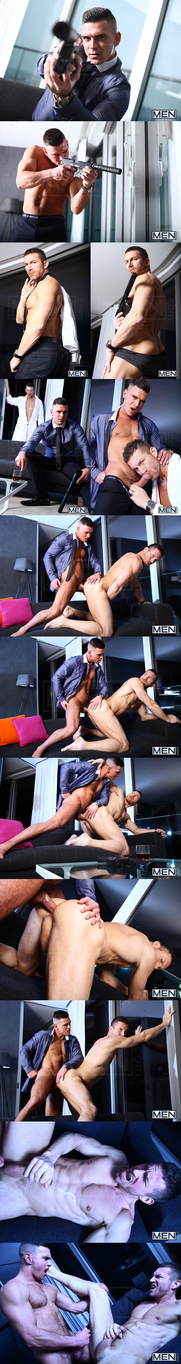 Big-dicked Paddy O'Brian slams muscle daddy Tomas Brand in Secret Agent Part 1 at Menofuk 01