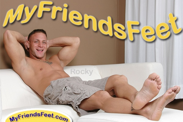 Sexy Italian bodybuilder Rocky aka Vinny Dacquino tickled at myfriendsfeet