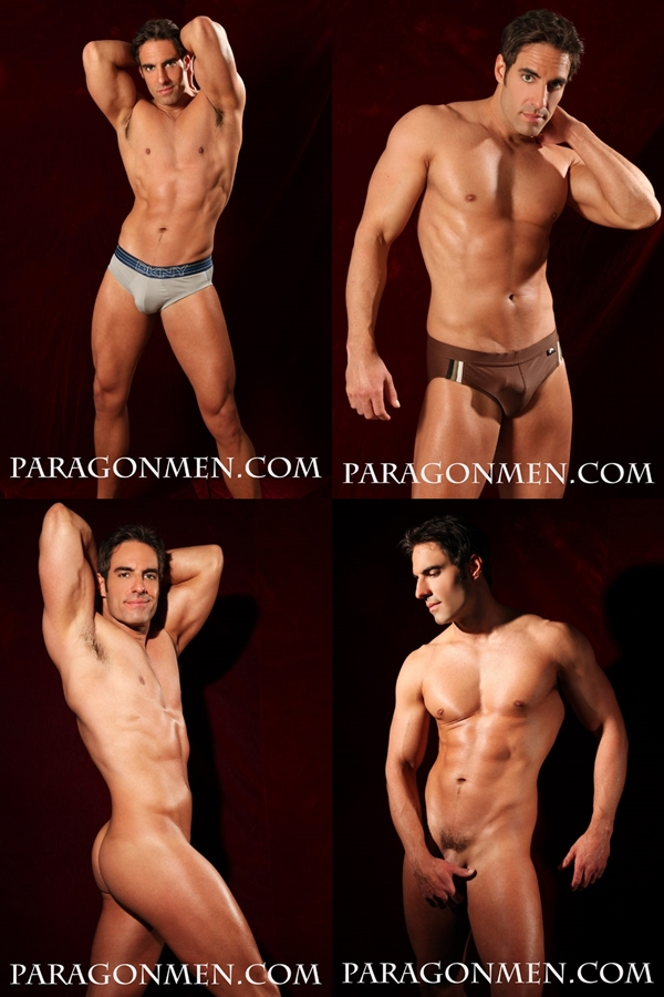 Hot muscular straight hunks Kent Slugger, Nico Bennett & Scott Jenkins shows off their hot bodies at Paragonmen 03