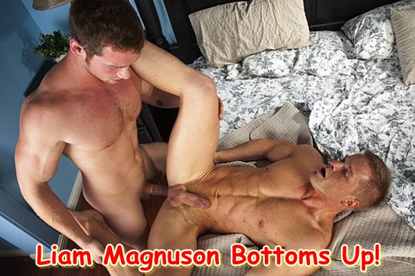 Long time power top Liam Magnuson will get his cherry popped up by big-dicked Connor Maguire in Top to Bottom Part 3 at Men