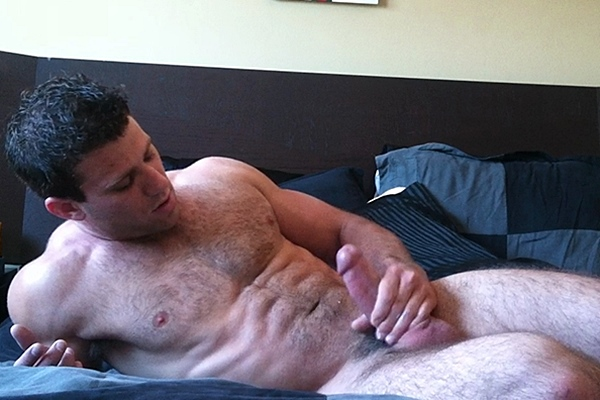 Super hot athletic muscle jock Cole Money gets his tight virgin ass fucked by Cody Wolfe at Gayhoopla