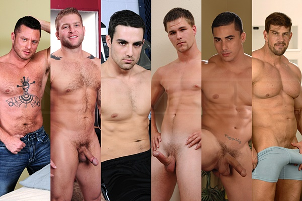 Charlie Harding, Colby Jansen, Jack King, Jack King, Jimmy Johnson, Topher DiMaggio, Zeb Atlas - Guess who is gonna get his cherry popped up in Top to Bottom Part 4 at Men