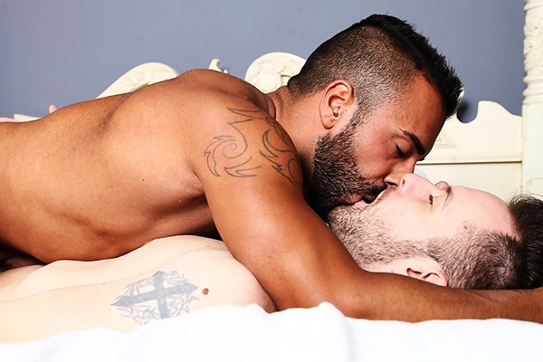 Handsome Tony Rivera fucks Aussie hottie Mathew Mason in A Lovers Tryst at Menofuk