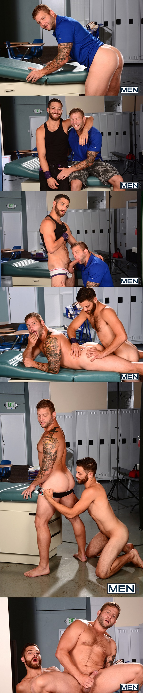 "9"" big-dicked Tommy Defendi fucks Colby Jansen's tight virgin ass at Men 01"