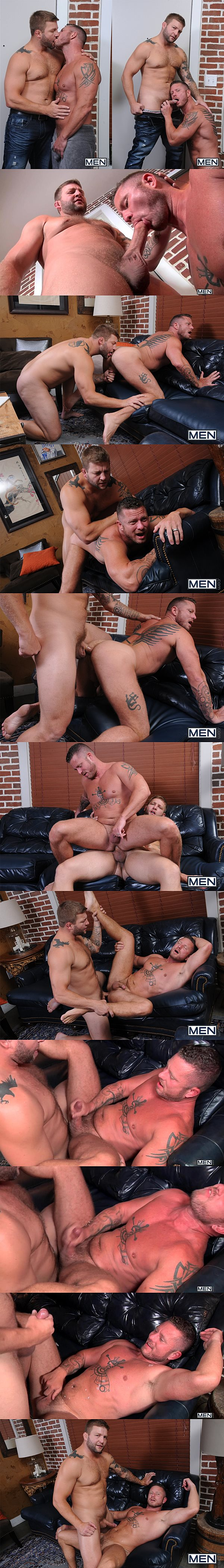Colby Jansen fucks Charlie Harding's tight virgin ass in Top to Bottom Part 5 at Men 02