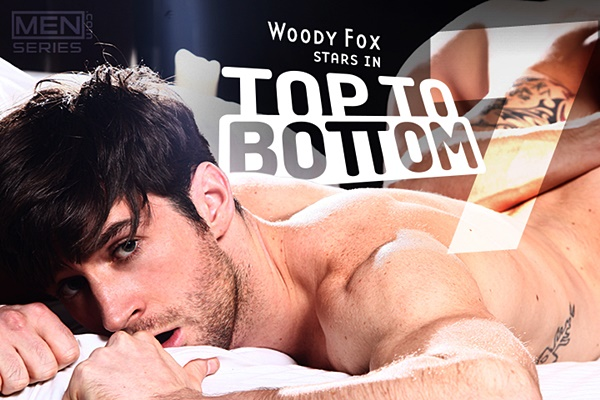 Super hot Aussie Woody Fox gets his tight virgin ass fucked by Paul Walker in Top to Bottom Part 7 at Men