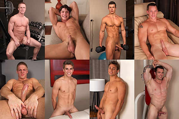 Top only stars Abe, Brandon, Cameron, Chase, Hunter, Jess, Ryder and Vaughn - Bottoming Up Wish List in 2014 at Seancody