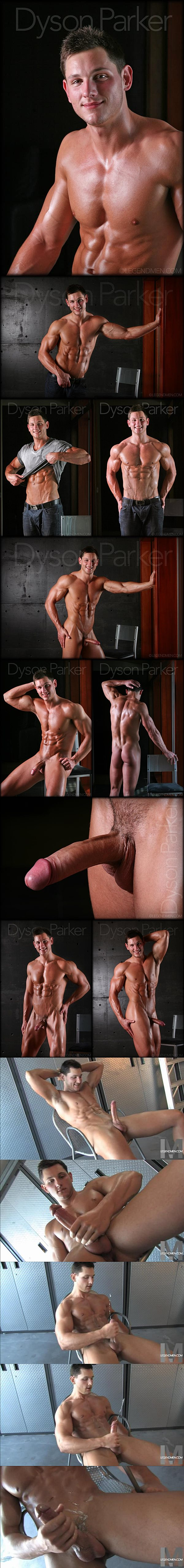 Super handsome straight stud Dyson Parker shoots more than 10 times at Legendmen 02