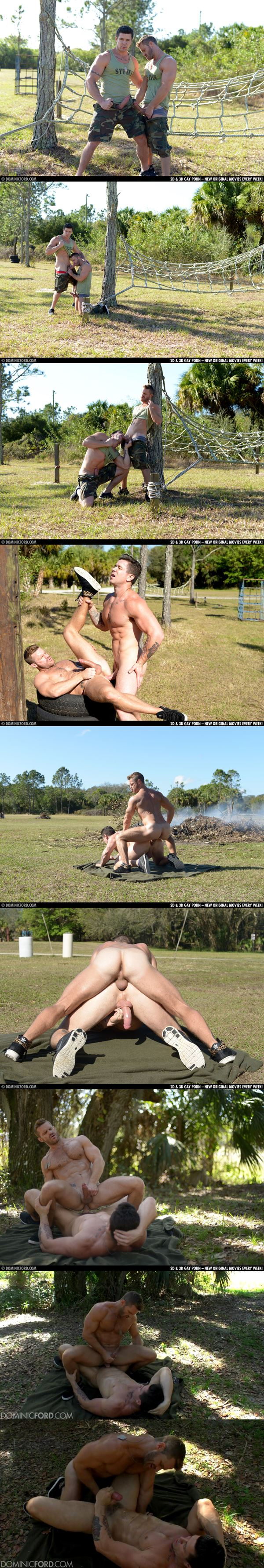 Muscle Jock Trenton Ducati & Landon Conrad Flip-Fuck Outdoors in So You Think You Can Fuck Season 4 Episode 1 at Dominicford 02