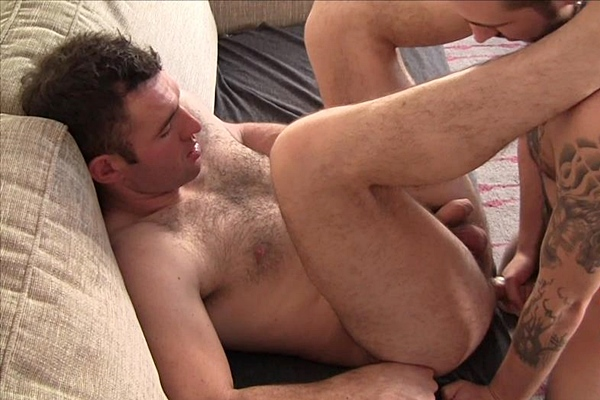 Olly Sheen fucks hot Irish lad Connor Lattimer in his tight virgin ass at Ladsnextdoor