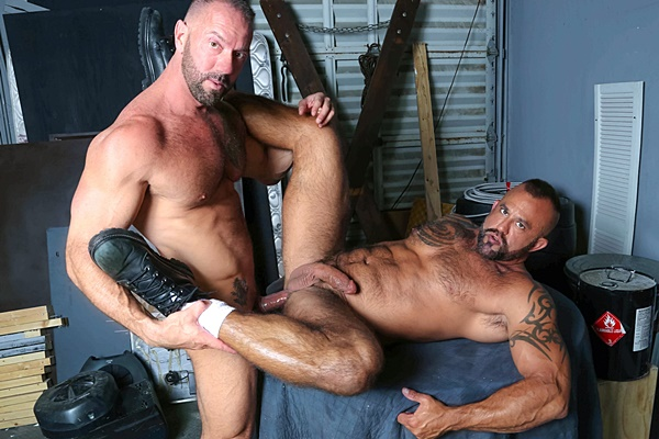 Real life lovers muscular hunks Vic Rocco fucks the cum out of Jon Galt in Passionate Couple at Highperformancemen