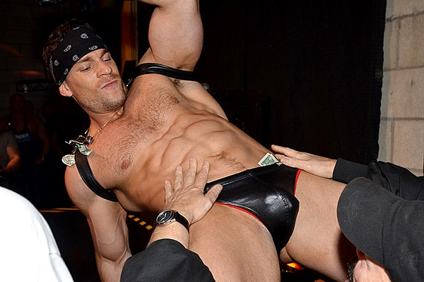 Sexy professional dancer Axel shows off his hot muscle body with some sexy dance moves in BBJAM #34 at Jimmyzproductions